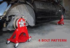 4 Автомобиля Болт Долли Ролл Вокруг Вложениями