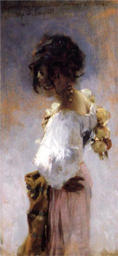 John Singer Sargent - Rosina