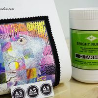 TINTA SABLON MATSUI BRIGHT RUBBER - CLEAR MJB 1KG
