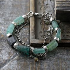 """SylviaArtGallery on Instagram: """"Gorgeous Roman glass and sterling silver bracelet. The Roman glass is a beautiful piece of history dating back 2000 years to the time of…"""" Christmas Presents For Women, Christmas Gifts For Wife, Diy Christmas, Sterling Silver Bracelets, Jewelry Bracelets, Blue Pearl, Birthday Gifts For Her, Pearl Bracelet, Turquoise Bracelet"""