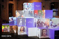 Branding Design at Corporate Events Blog Post. Yahoo SXSW 2015