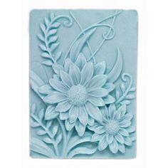 Molde pastilla jabón Girasoles, con este molde podrás hacer este elegante y floral jabón tanto para tu baño, como para #hacerdetalles. Hazlo tu mism@, en Gran Velada disponemos de todo lo que necesitas para #hacerjabones. #diy