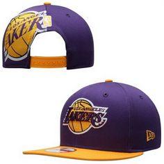 801e8d5a03 Cheap NBA Los Angeles Lakers New Era Snapback Hats PurPle 420