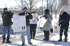 Urban Jobs Task Force holds monthly rallies to urge COR Development Co. to higher Syracuse city workers. http://syracusejobsmatter.com/we-want-jobs/
