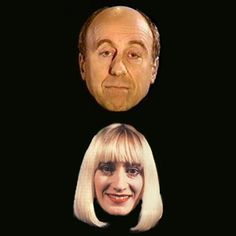 Image shows from L to R: Holly (Norman Lovett), Holly (Hattie Hayridge). Sci Fi Comedy, Comedy Actors, British Tv Comedies, British Comedy, Welsh, Young Movie, Science Fiction Series, Red Dwarf, Great Films