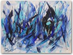 Contemporary Art Thirty-Seven, original painting by Lynne Taetzsch at ARTBYLT.COM