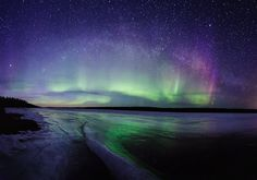I need a little Aurora Borealis in my life...
