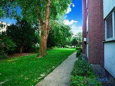 Die direkte Umgebung besticht durch eine Vielzahl von Grünflächen.