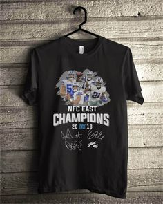 6cd53c180 Dallas Cowboys NFC east champions 2018 shirt
