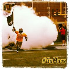 8/4/13 - Scrappy is ready to lead the Mocs onto the field in only 25 days!!! #GoMocs