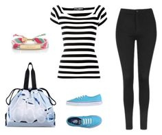 """""""A """"cool"""" walk"""" by solia-horn on Polyvore featuring Vans, Topshop, Dolce&Gabbana, Y-3 and Kate Spade"""