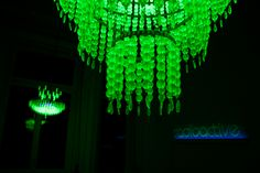 uranium ken + julia yonetani. In response to the 2011 Fukushima nuclear disaster, Australia-based artists have created 29 chandeliers, made from vintage uranium glass beads. Each chandelier will represent a country that relies on nuclear power for energy with its size correlating to the amount of nuclear capacity.