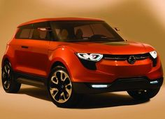 The SsangYong Concept is a showcase for SsangYong\'s design and engineering talents. The name is derived from the phrase \'eXciting user. Compact Suv, Jeep Renegade, Car Brands, Car Lights, Car Car, Fast Cars, Car Pictures, Concept Cars, Classic Cars