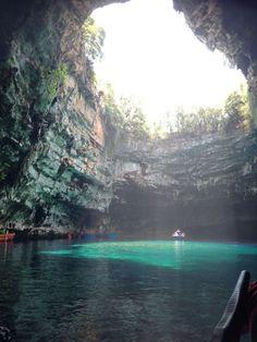 Kefalonia, Melissani Cave