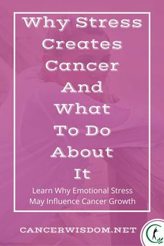 stress cancer, cancer emotions, cancer stress, cancer relief