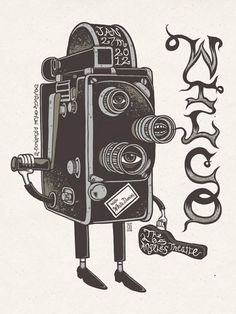 Cool Wilco gig poster by Jim Mazza