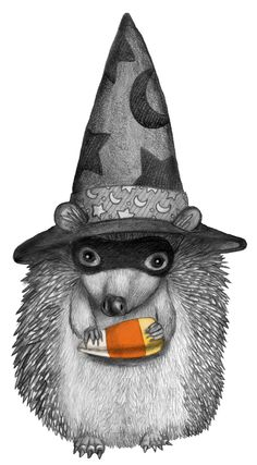 Happy Halloween, Hedgehog!
