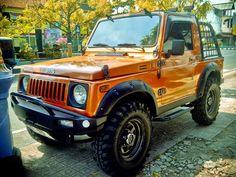 Foto-foto Modifikasi Suzuki Jimny Katana - Gambar.photo 4x4, Jimny Suzuki, Katana, Offroad, Cool Cars, Dream Cars, Samurai, Jeep, Honda