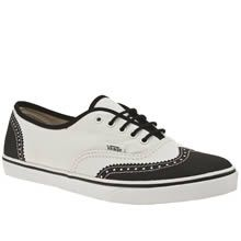 vans authentic lo pro leather lombard