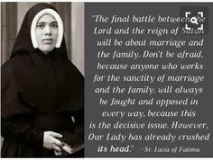 Sister Lucia - Fatima