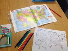 Scrambled States and a US map FREEBIE!