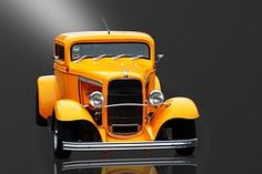 Auto, Oldtimer, Street-Rod, Ford