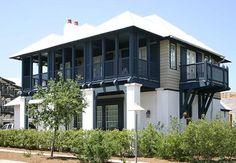 - Rosemary Beach , Florida Want one Farmhouse Architecture, Residential Architecture, Architecture Details, Beach Cottage Style, Beach House Decor, Creole Cottage, Coastal Homes, Beach Homes, Waterfront Homes