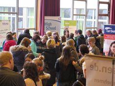JugendBildungsmesse in #Bielefeld am 5. März 2016, Ceciliengymnasium