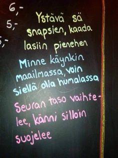 Finnish Language, Word Symbols, Chalkboard Art, Joy And Happiness, Work Humor, Funny Mugs, True Stories, Sarcasm, Haha