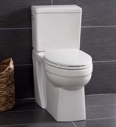 View the Miseno MNO370C Two-Piece High-Efficiency Elongated ADA Height Toilet with Slow Close Seat, Decorative Trip Lever, and Wax Ring (1.28 GPF) at FaucetDirect.com.
