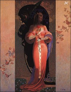 EndTimePilgrim.org/*** THE GREAT APOSTASY Painting by artist Thomas Blackshear