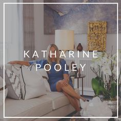 Katharine Pooley's refined yet eclectic aesthetic has earned her a position as one of the most sought-after interior designers in London and commissions for landmark commercial and residential projects around the world. Best Interior Design, Interior Design Inspiration, Art Furniture, Luxury Furniture, Katharine Pooley, Round Chandelier, Lifestyle Shop, Barrel Chair, Living Room Sets