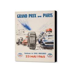 """Grand Prix Mai 1965 (20"""" x 16"""")"""
