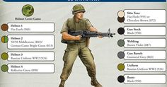 us infantry vietnam | US Infantry Painting Guide | FOW | Pinterest | Vietnam, Hobbies and Paintings
