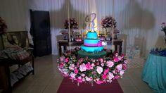 Festa 15 anos - Tiffany e rosa - Villa Vicenzo Recepões - Faça sua festa conosco.