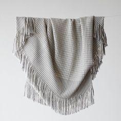 Alpaca Wool Blanket with Black & Cream Stripes Alpaca Throw, Alpaca Blanket, Alpaca Wool, Wool Blanket, Baby Alpaca, Merino Wool, Chunky Wool, Linen Bedding, Bed Linens