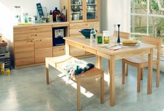 HUTTE(ヒュッテ) ダイニングテーブル W1500 | ≪unico≫オンラインショップ:家具/インテリア/ソファ/ラグ等の販売。