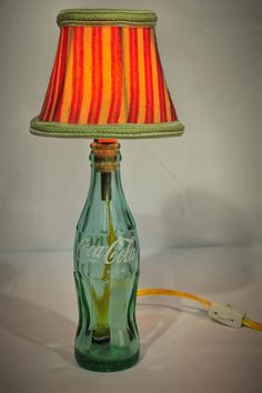 """Vintage Coca Cola Bottle Lamp"" - Repurposed  Etsy - https://www.etsy.com/listing/179902553/vintage-coca-cola-bottle-lamp-repurposed"
