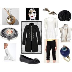 Clockwork Man, created by doctorwhodressing on Polyvore