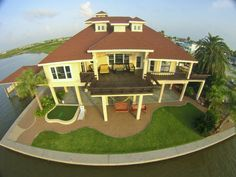 Luxury Villa on the Bolivar Peninsula. Investment property or vacation home, it's your choice.