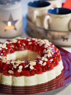 Takk til hogstflata - Kirsten Winge Protein Shake Recipes, Protein Shakes, Pudding Desserts, Christmas Baking, Panna Cotta, Cheesecake, Food And Drink, Dulce De Leche, Cheesecakes