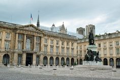Place Royale - in Reims - statue of King Louis XV
