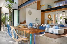 Seascape villa Nusa Lembongan Bali Indonesia Architecture, Landscaping and Interior Design by Word Of Mouth House Ocean Front Property, Pond Design, Interior Decorating, Interior Design, Living Area, Architecture Design, Indoor, Terrace, Photograph