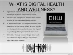 Digital Health and Wellness Issues Understand ergonomics and repetitive motion to avoid injuries. Technology such as the Internet and video games can be addictive. Psychological Well Being, What Is Digital, Digital Citizenship, First Health, Keeping Healthy, Digital Technology, Health And Wellbeing, Health Coach, Health Problems