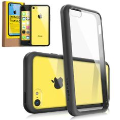 RINGKE FUSION Apple iPhone 5C Case Bumper [BLACK] Best Selling Shock Absorption Bumper + Anti Scratch Clear Back Premium Hybrid Case for Apple iPhone 5C [Eco/DIY Pkg.] Rearth,http://www.amazon.com/dp/B00EA1XINQ/ref=cm_sw_r_pi_dp_5YqNsb0PF68YXPNF