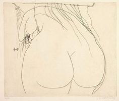 Pierre-Jean Maurel - vjeranski: Brett Whiteley Woman under the Woman Drawing, Life Drawing, Figure Drawing, Australian Painters, Australian Artists, Gypsy Eyes, Avant Garde Artists, Art Walk, Sculpture