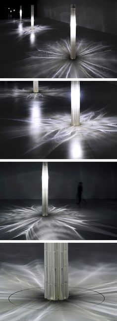 neri oxman 3D-prints large scale glass pillars at the LEXUS yet exhibition | architect, designer, inventor and associate professor of the MIT media lab, neri oxman has created an installation made of 3D-printed glass columns celebrating LEXUS' 10th edition at milan design week. set within la triennale di milano, the show highlights the brand's YET philosophy, aiming to push the boundaries of creativity by fusing seemingly incompatible elements. following the 'don't compromise; harmonize'…
