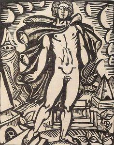 Le bestiaire ou cortège d'Orphée de Guillaume Apollinaire, gravures de Raoul Dufy, 1908-1910.