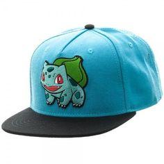 Nintendo Pokemon Bulbasaur Color Block Snapback Licensed Authentic d4c467618aec