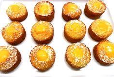 Lemon Curd Cakes Lemon Curd Cake, Mini Cakes, Pretzel Bites, High Tea, Treats, Food, Tea, Sweet Like Candy, Tea Time